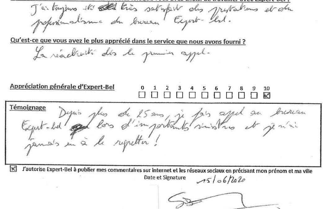 Témoignage d'un courtier en Assurances à Namur