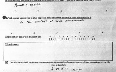 Témoignage de Roberto de Mont sur Marchienne qui a eu un dégât des eaux en avril 2020
