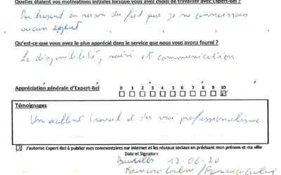 Témoignage de Francesco d'Ixelles qui a été touché par un dégât des eaux dans une copropriété
