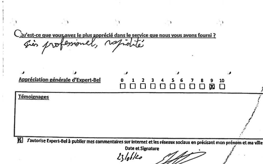 Témoignage de Frédéric qui a du faire face à l'incendie de sa maison à Froidchapelle en mai 2020